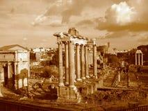Foro Romanum, Roma Foto de archivo libre de regalías