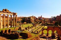 Foro Romanum, Roma Imagen de archivo libre de regalías