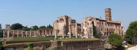 Foro Romanum, Roma, Italia Imagen de archivo libre de regalías
