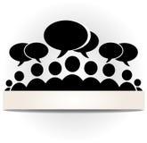 Foro social de la comunidad Imágenes de archivo libres de regalías
