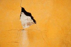Foro su una parete Fotografie Stock Libere da Diritti