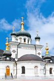 Foros church. Domes Foros church in Crimea royalty free stock images