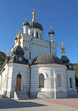 The Foros Church. Foros Church is in a very picturesque place of the southern coast of Crimea stock images