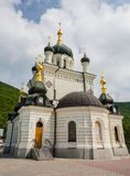 Foros church in Crimea. Domes Foros church in Crimea stock photo