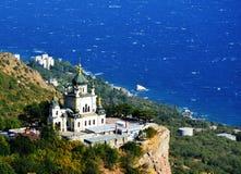 Foroskykerk sebastopol ukraine Stock Foto's