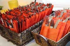 Forquilhas e knifes Imagem de Stock Royalty Free