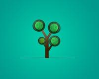 Forre a árvore Foto de Stock Royalty Free
