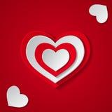 Forre corações Imagem de Stock Royalty Free