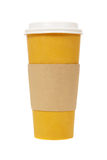 Forre o copo de café Imagem de Stock Royalty Free