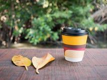 Forre o copo de café Imagens de Stock Royalty Free