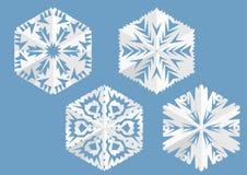 Forre o floco de neve ilustração stock