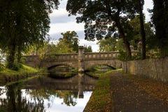 Forrees, le pont de château. Photo libre de droits