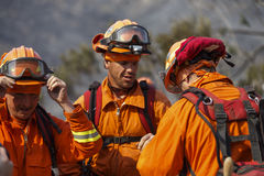 Forrest Fire- - Camarillo-Frühlinge 5-2-2013 Stockfotos