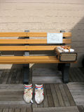 Forrest Gump bench, SF Royalty Free Stock Image