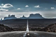 Forrest Gump punkt i Utah Royaltyfri Foto
