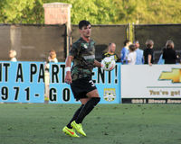 Forrest Lasso, defender, Charleston Battery Royalty Free Stock Photos