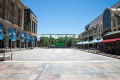 Forrest Place Square in Perth City Centre, Western Australia Royalty Free Stock Images