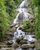 Forrest siklawa, północny Wietnam Obraz Stock