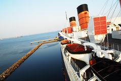 Forro de oceano Fotografia de Stock