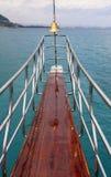 Forro de oceano ou nariz do iate do mar Imagem de Stock Royalty Free