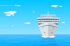 Forro do cruzeiro ilustração stock