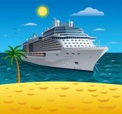 Forro do cruzeiro ilustração royalty free