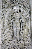 Fors Clavigera carving, Coniston Stock Photography