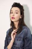 Fors för modemodellprov royaltyfri fotografi