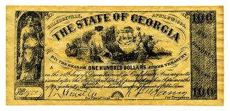 forsa konfederatów obrazy stock