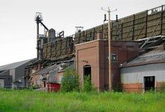 forsaken fabrik Royaltyfria Foton