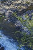 Forsar och vaggar, berggaffelfloden, Oklahoma Arkivfoto