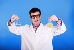 Forscher. lizenzfreie stockfotos