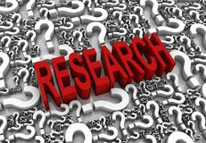 Forschung Stockbild
