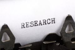 Forschung stockbilder