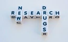 Forschung für neue Drogen lizenzfreies stockbild