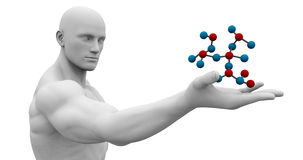 Forschung, Labor, Wissenschaft, prüfend Lizenzfreie Stockbilder