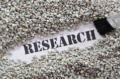 Forschung -- Schatz-Wort-Serie Lizenzfreie Stockfotos