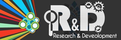 Forschung und Entwicklung bunte Dunkelheit Lizenzfreies Stockfoto
