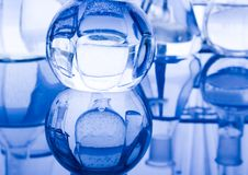 Forschung und Experimente Stockbild