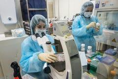 Forschungslabor von Biocad Lizenzfreies Stockbild