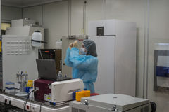 Forschungslabor von Biocad Lizenzfreies Stockfoto