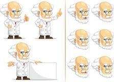 Forskare eller professor Customizable Mascot 6 Royaltyfri Fotografi