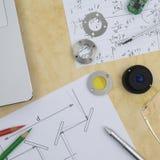 Forskning och utveckling Fotografering för Bildbyråer