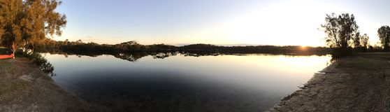 Forster lakes Stock Photos
