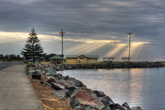 Forster Landscape with Clouds Royalty Free Stock Photography