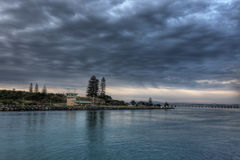Forster Seascape with Clouds Stock Photos