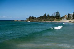 Forster wave view Stock Photos