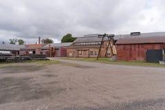 Forsvik memorável industrial Bruk em Forsvik, Suécia Foto de Stock