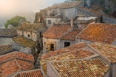 Forsy d'Agro stary miasteczko Zdjęcie Stock