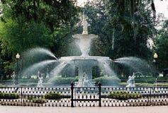 forsyth fontanny z przodu Zdjęcie Royalty Free